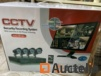 Security system with 4 cameras 4K HD Internet and 5g phone view