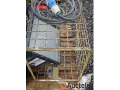 Site Spot with protection wire mesh