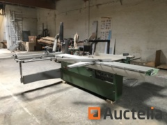 Sliding table panel saw/saw in CASADEI format