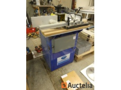 Spindle moulder with Tendotools trolley