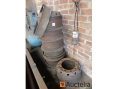 Steel rims for truck, brakes drums for truck