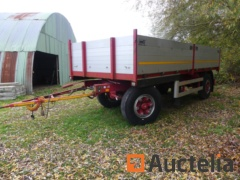 Trailer braked for truck Lanz + Marti, 12