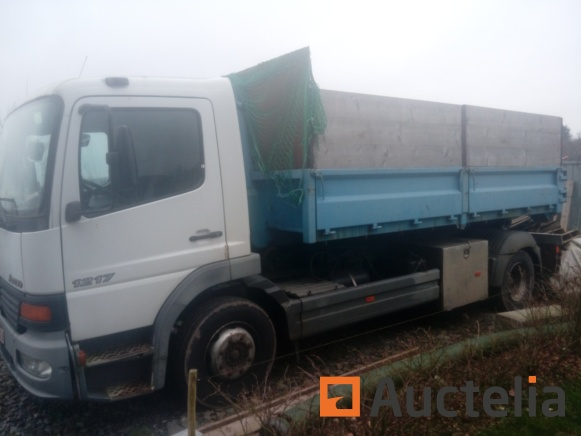 Truck Container Mercedes 1217 Atego