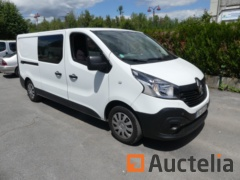 Truck van RENAULT Double TRAFFIC cabin (2019-50928 km)
