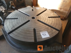 Turntable for tool machine
