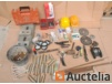 Varia of construction items (construction bankruptcy - WURTH, FISCHER,)