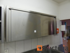 Wall cabinet with double slinding doors