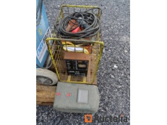 Welding machine 220 V, eye protection, gloves, welder hammer