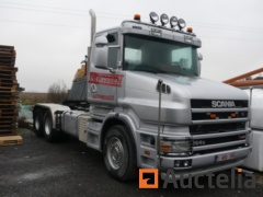 Tracteur routier SCANIA T-GB6X4/27 (2003 - 661047 km)